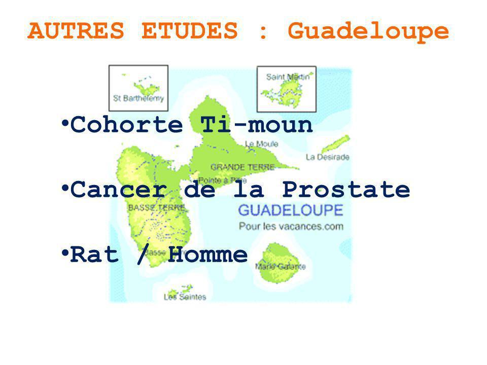 AUTRES ETUDES : Guadeloupe