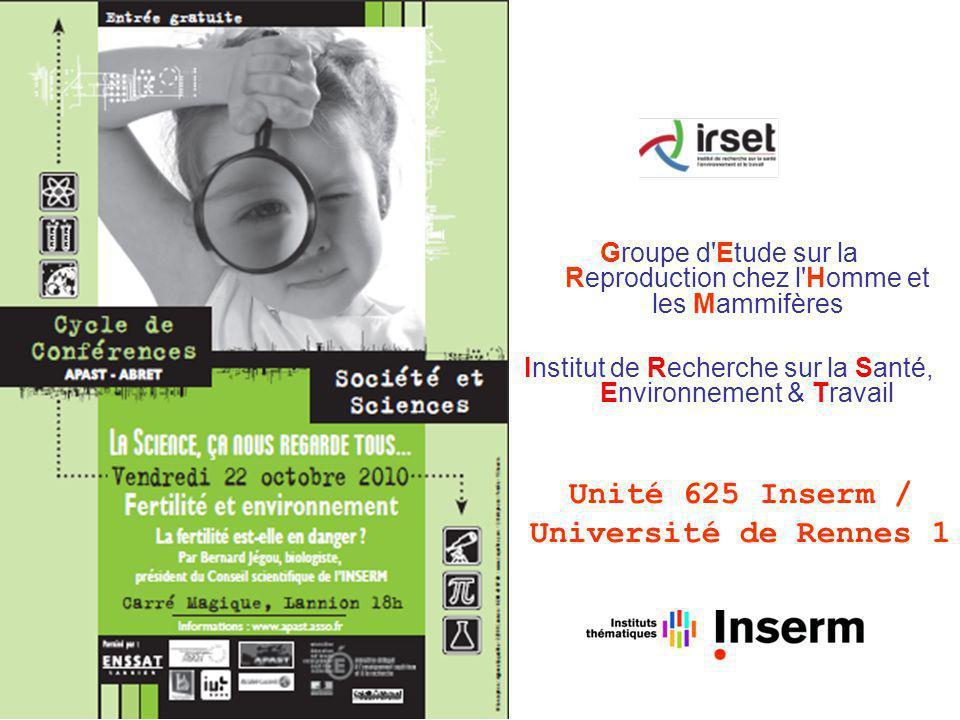 Unité 625 Inserm / Université de Rennes 1