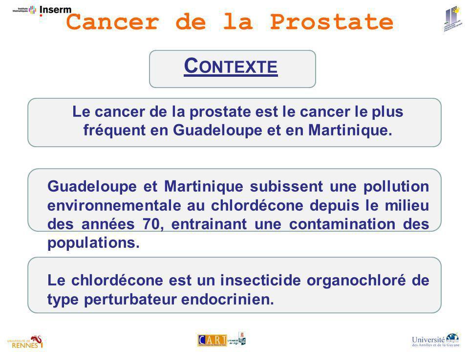 Cancer de la Prostate Contexte