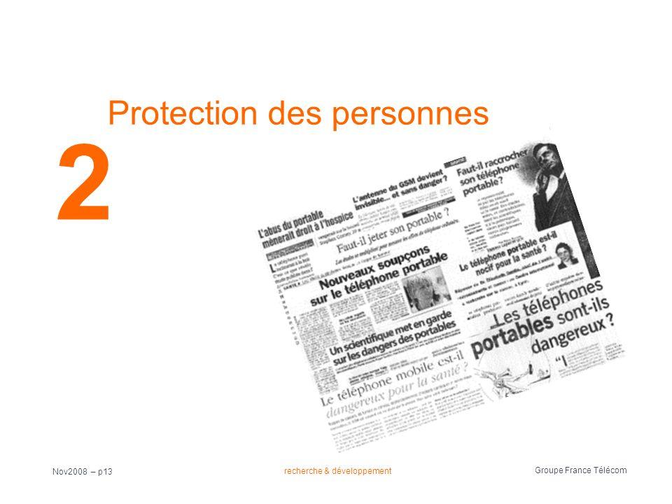 Protection des personnes