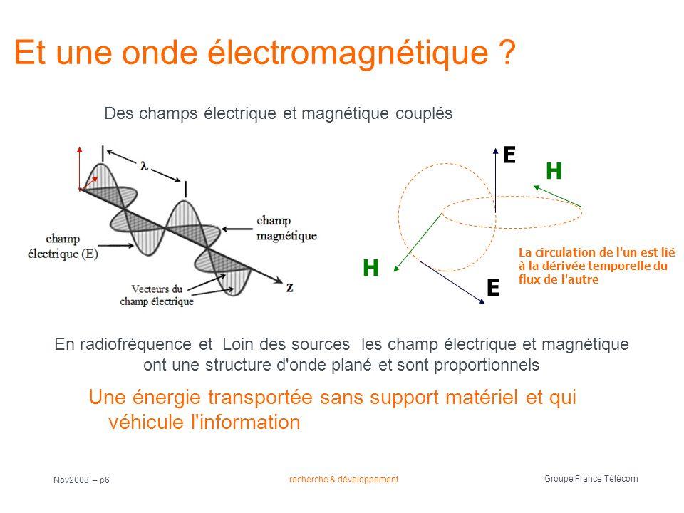 Et une onde électromagnétique