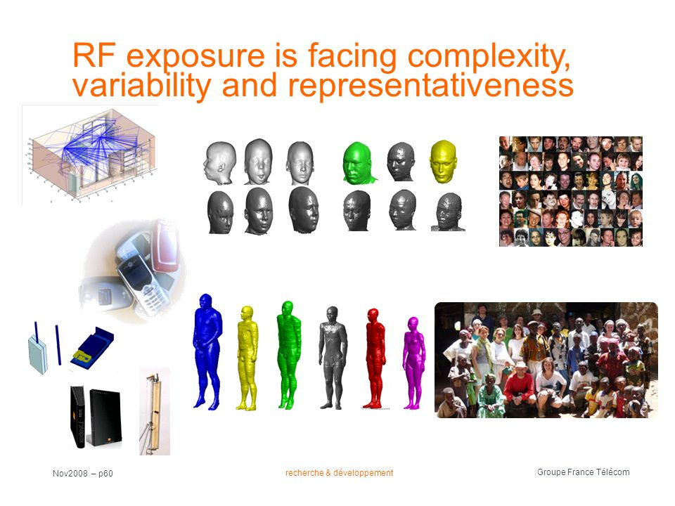 RF exposure is facing complexity, variability and representativeness