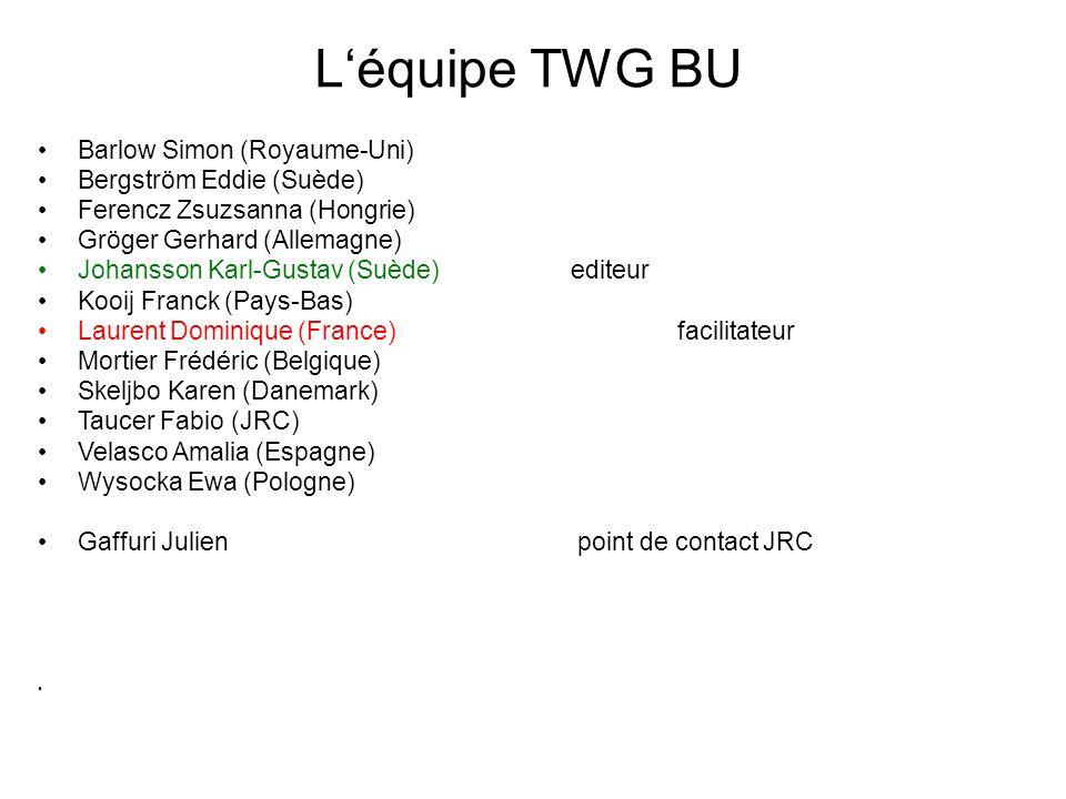 L'équipe TWG BU Barlow Simon (Royaume-Uni) Bergström Eddie (Suède)