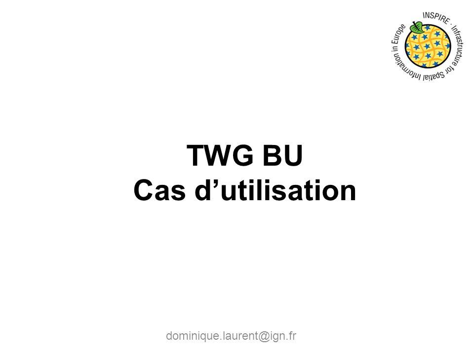TWG BU Cas d'utilisation