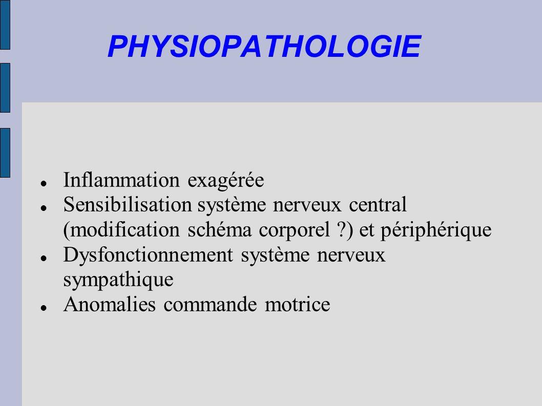PHYSIOPATHOLOGIE Inflammation exagérée