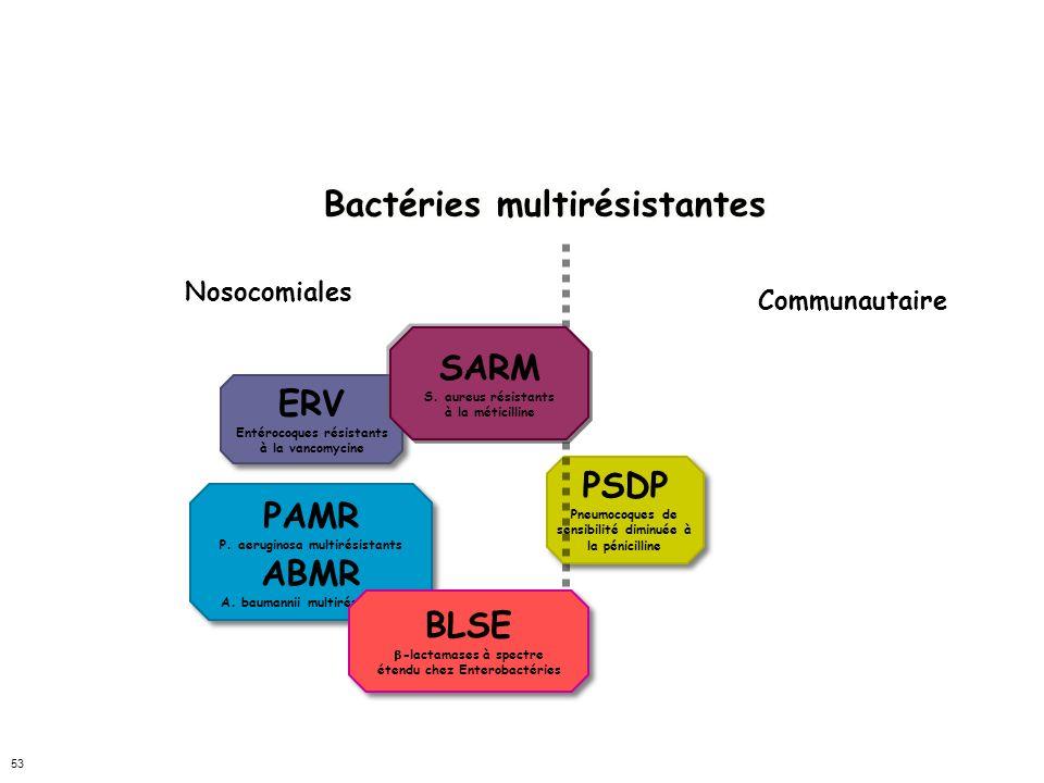 HIER Bactéries multirésistantes SARM ERV PSDP