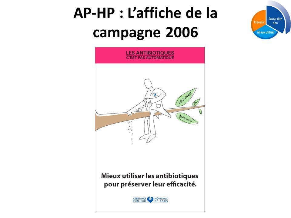 AP-HP : L'affiche de la campagne 2006