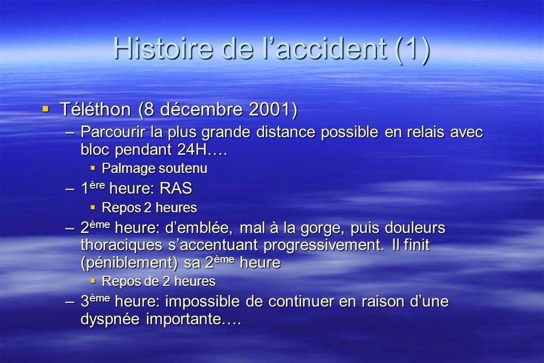 Histoire de l'accident (1)