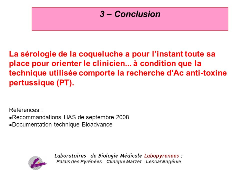 3 – Conclusion