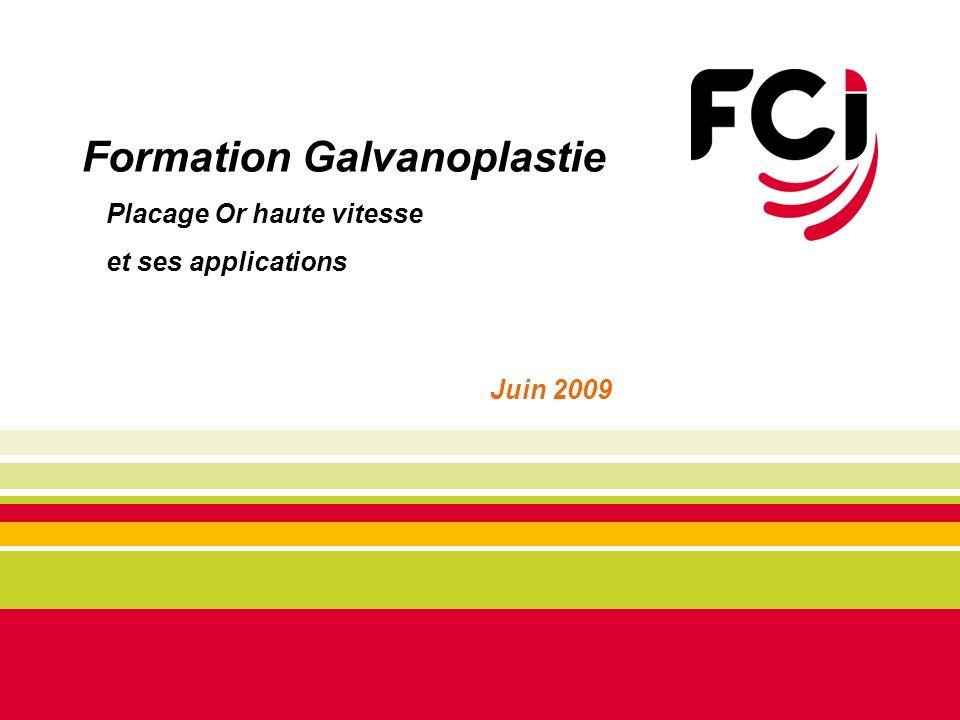 Formation Galvanoplastie