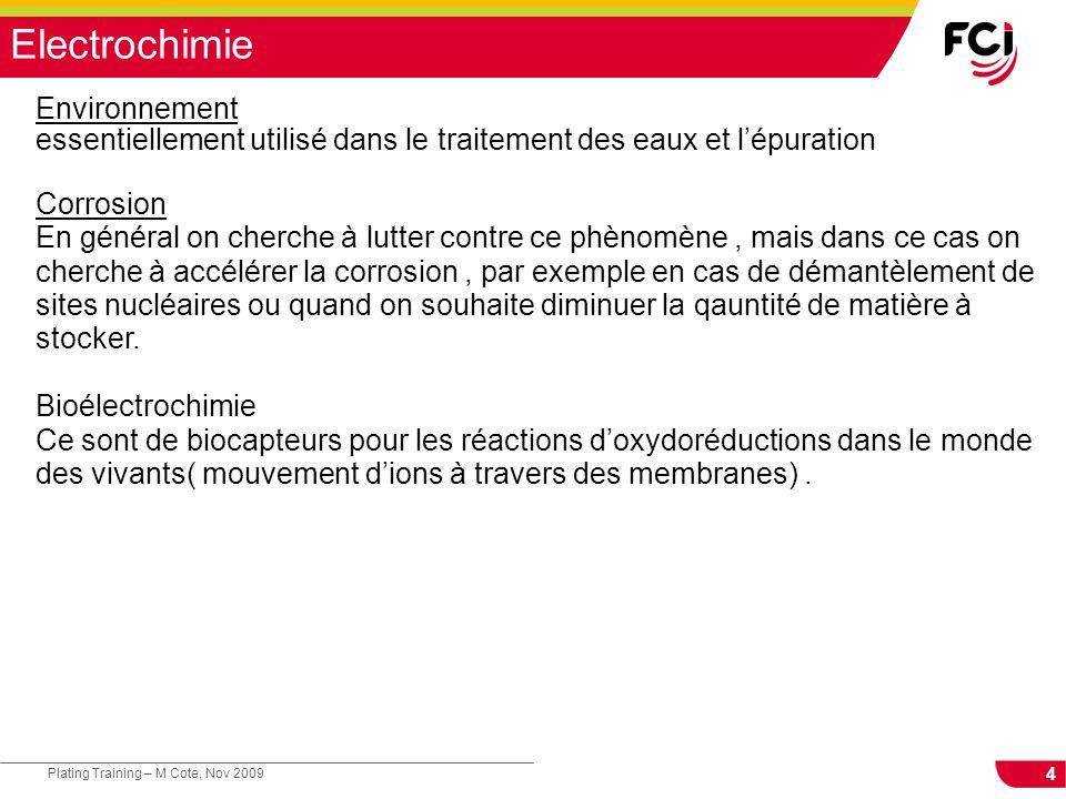 Electrochimie Environnement