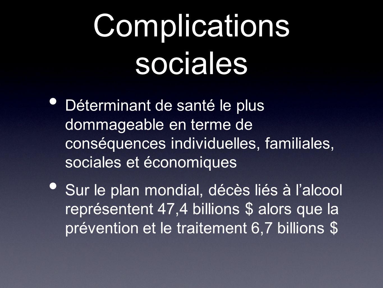 Complications sociales