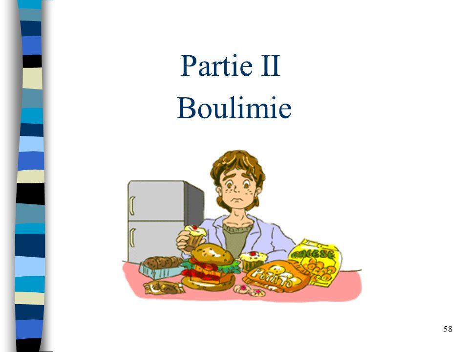 Partie II Boulimie
