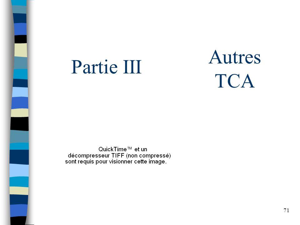 Autres TCA Partie III