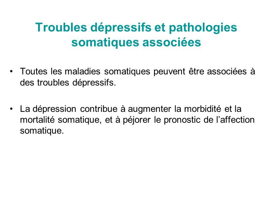 Troubles dépressifs et pathologies somatiques associées
