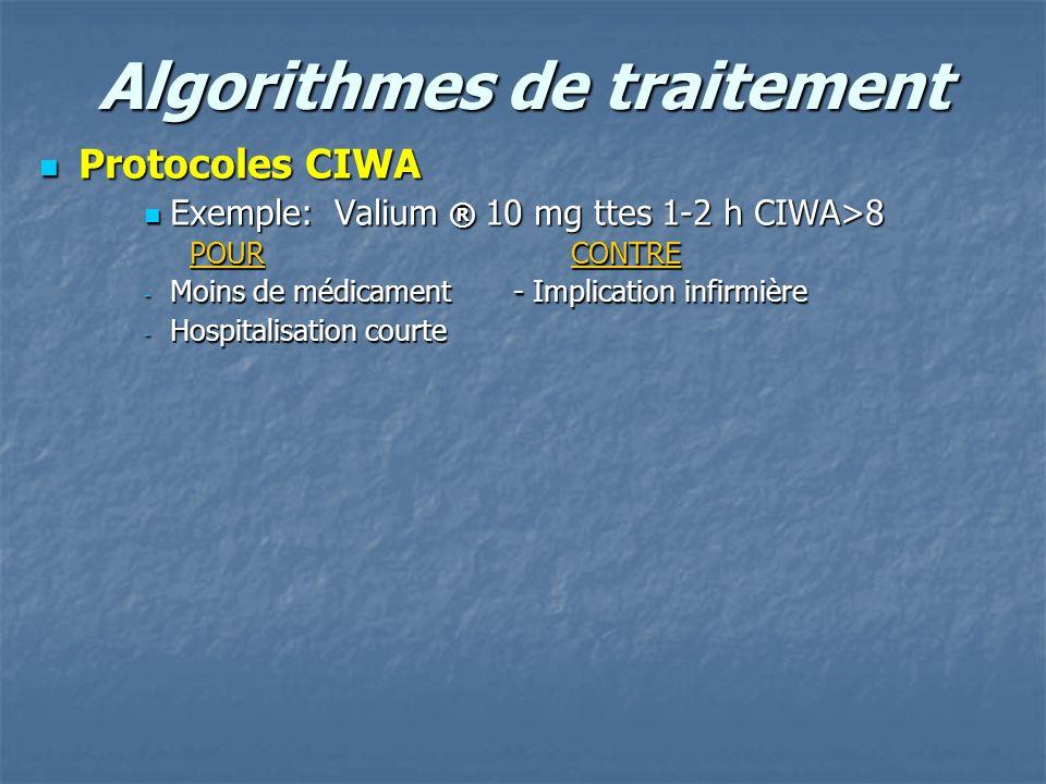 Algorithmes de traitement