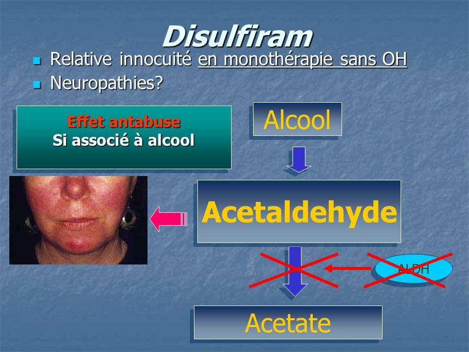 Disulfiram Acetaldehyde
