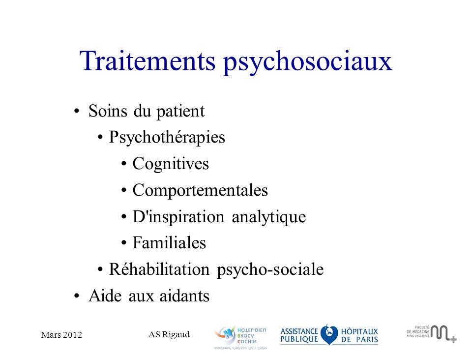 Traitements psychosociaux