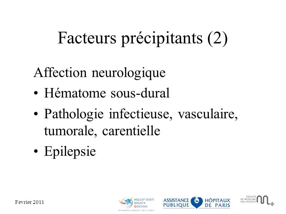 Facteurs précipitants (2)