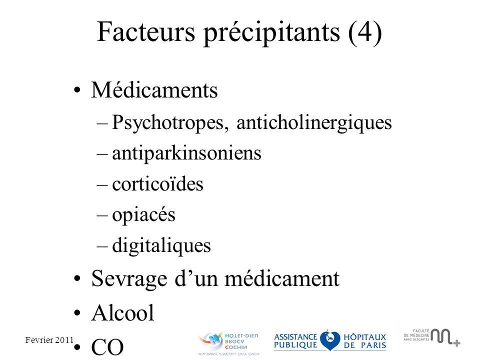 Facteurs précipitants (4)