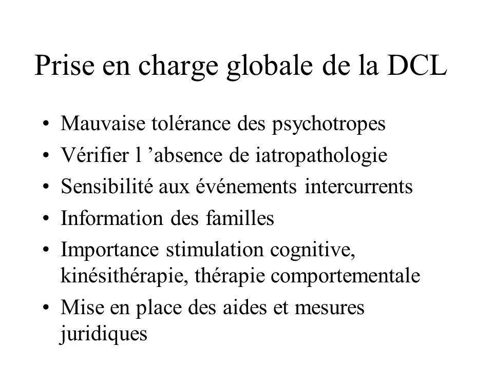 Prise en charge globale de la DCL