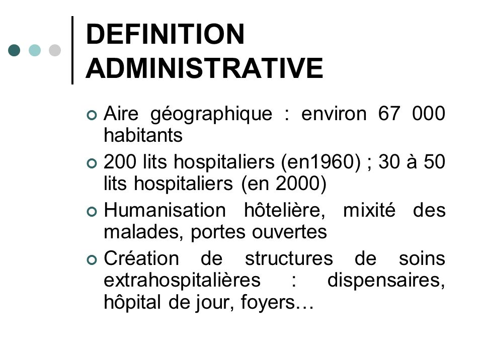 DEFINITION ADMINISTRATIVE