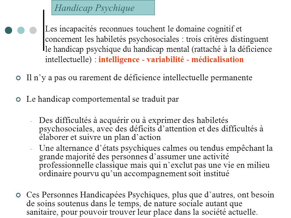 Handicap Psychique