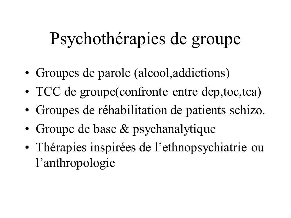Psychothérapies de groupe