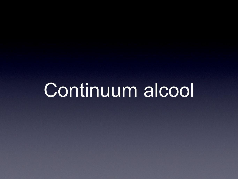Continuum alcool