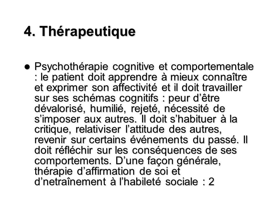 4. Thérapeutique