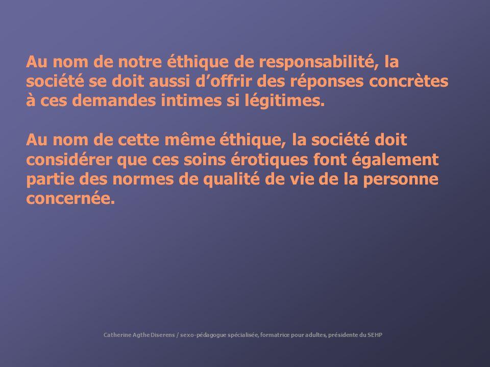 Au nom de notre éthique de responsabilité, la