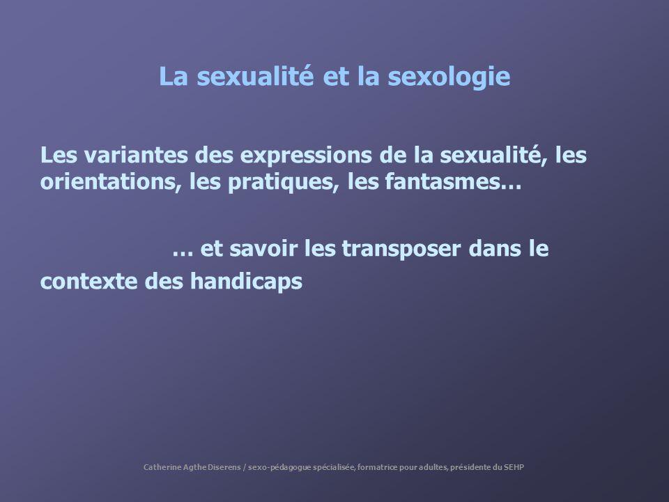 La sexualité et la sexologie
