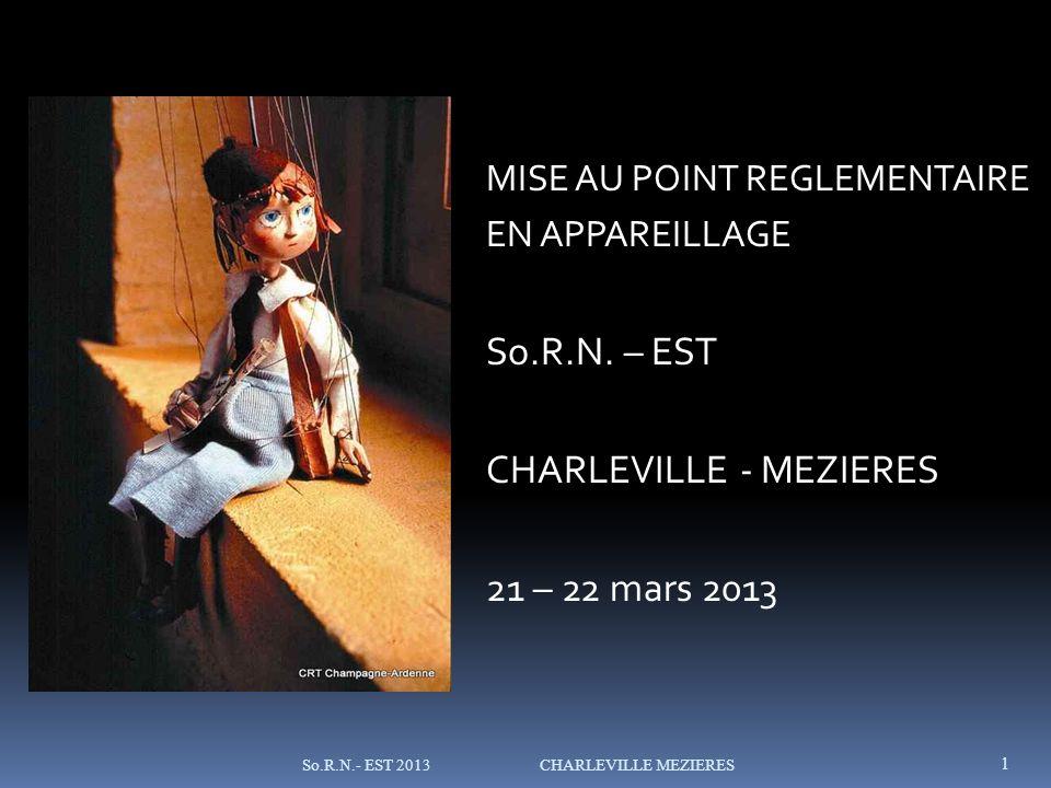 CHARLEVILLE - MEZIERES 21 – 22 mars 2013