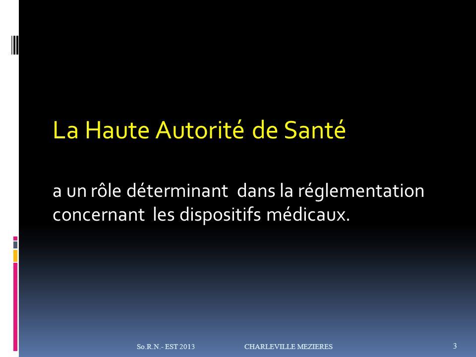 La Haute Autorité de Santé