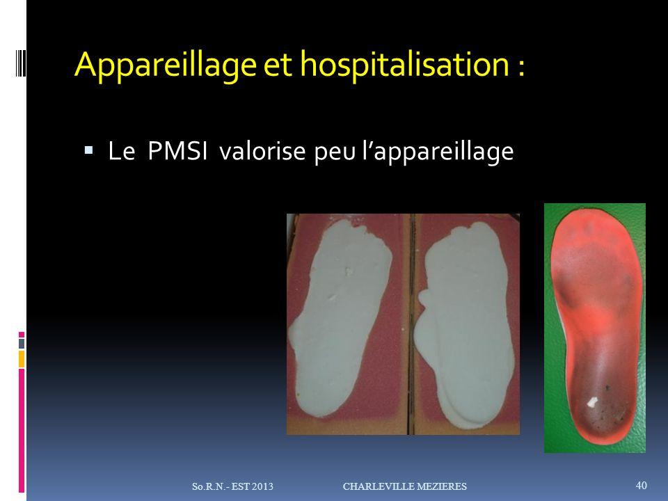 Appareillage et hospitalisation :