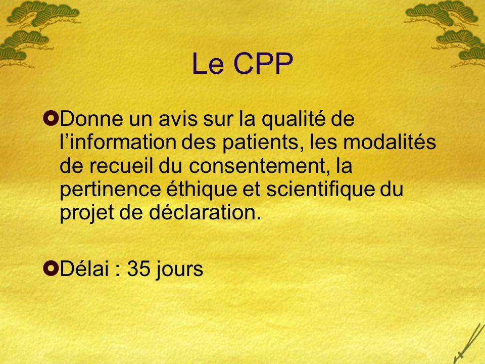 Le CPP