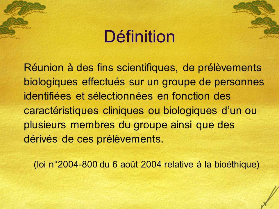 (loi n°2004-800 du 6 août 2004 relative à la bioéthique)