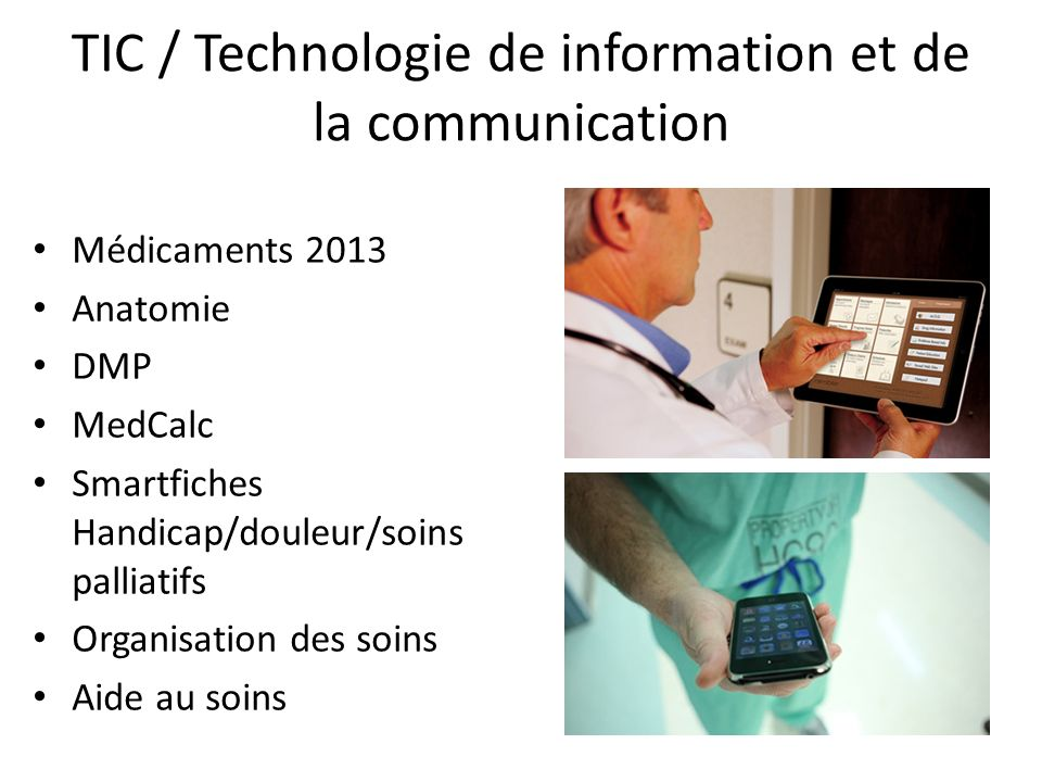 TIC / Technologie de information et de la communication