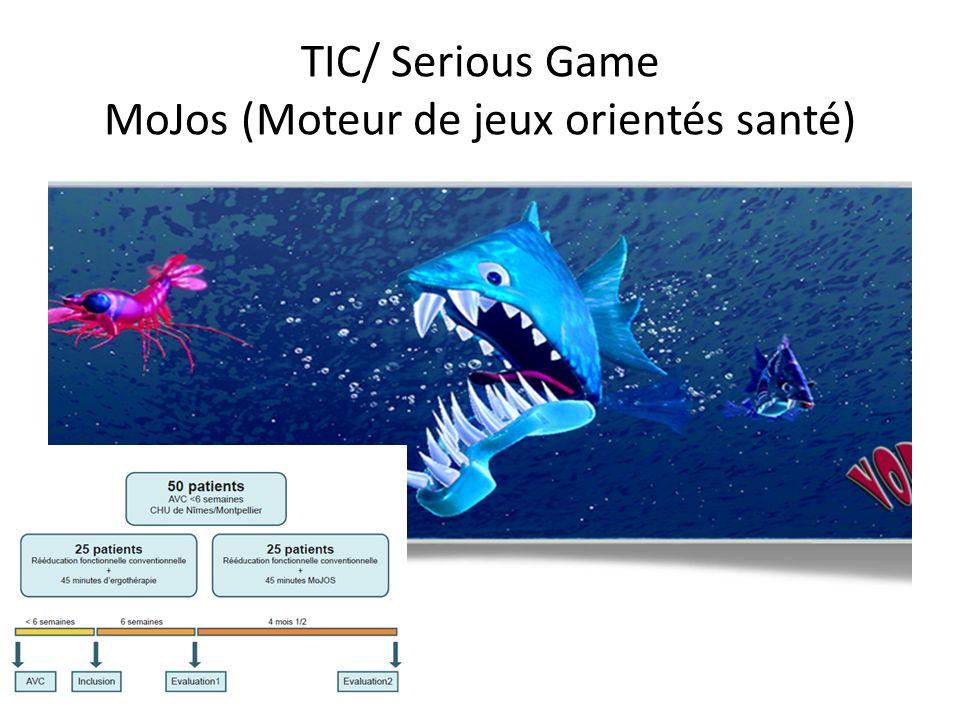 TIC/ Serious Game MoJos (Moteur de jeux orientés santé)