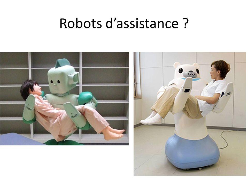 Robots d'assistance