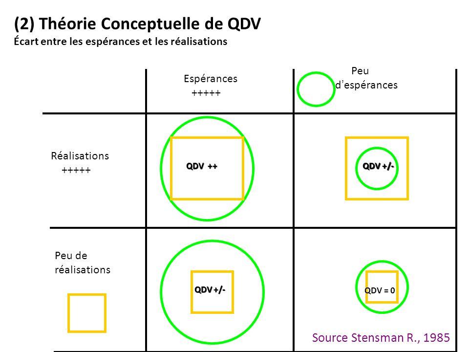 (2) Théorie Conceptuelle de QDV