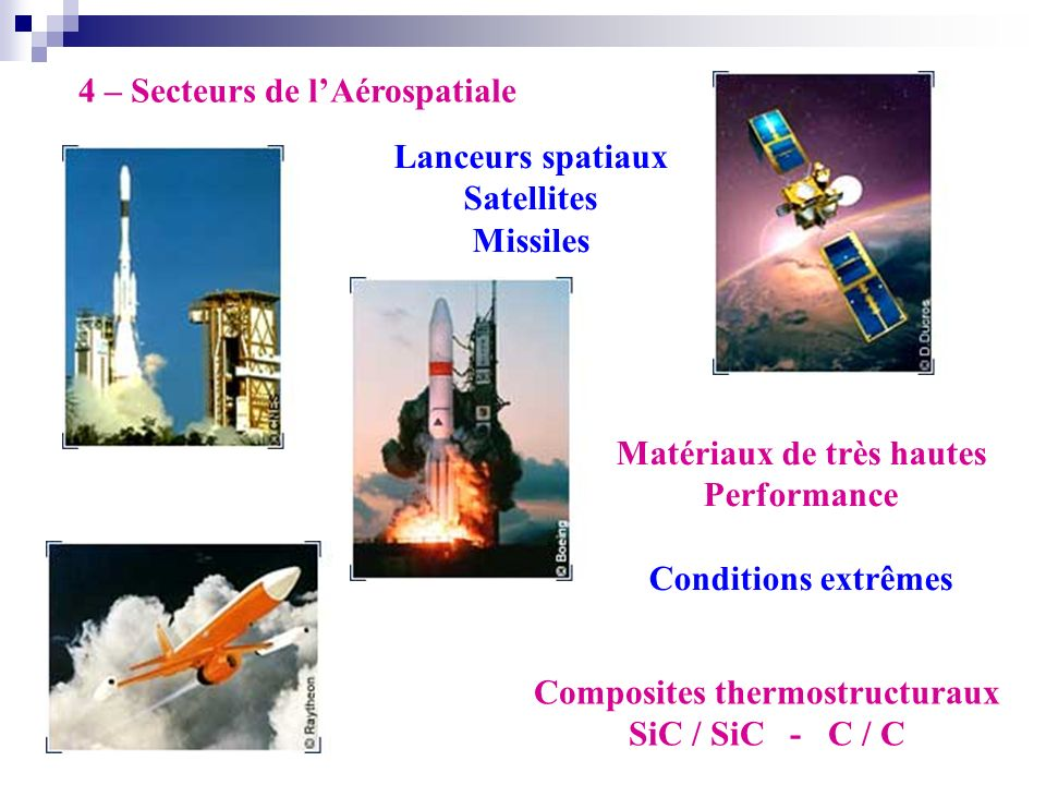 Matériaux de très hautes Composites thermostructuraux