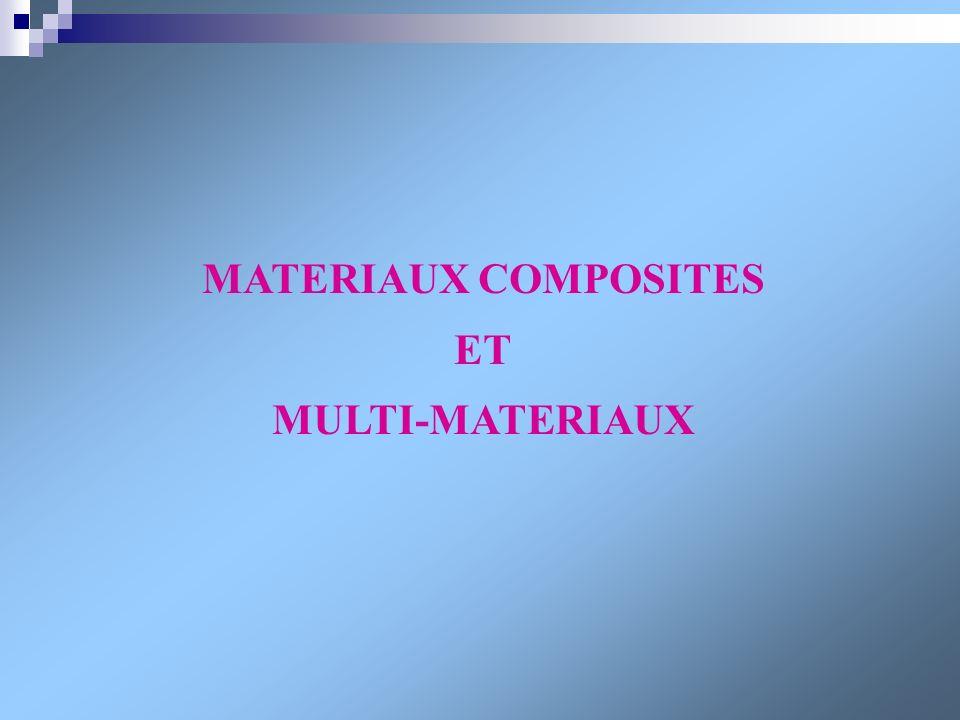 MATERIAUX COMPOSITES ET MULTI-MATERIAUX