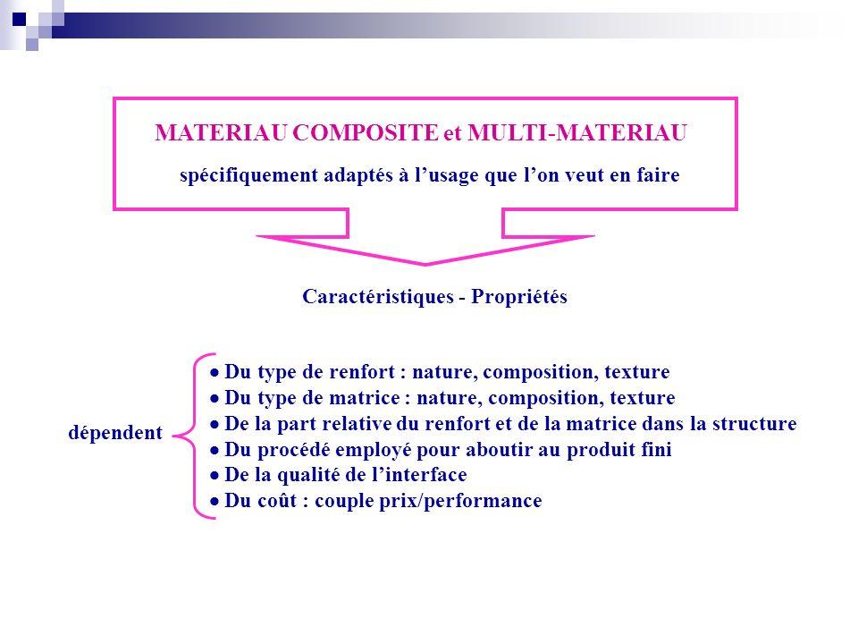MATERIAU COMPOSITE et MULTI-MATERIAU