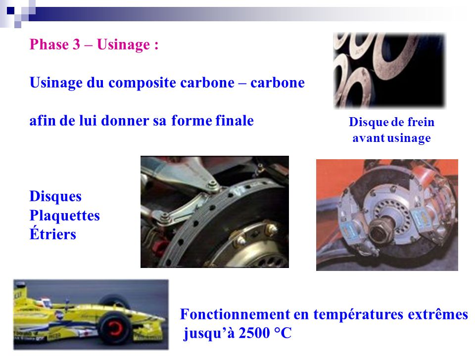 Usinage du composite carbone – carbone