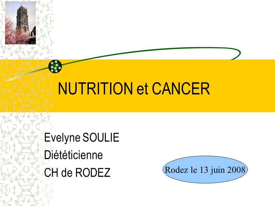 Evelyne SOULIE Diététicienne CH de RODEZ