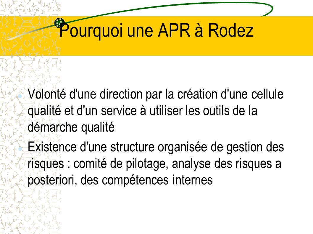 Pourquoi une APR à Rodez