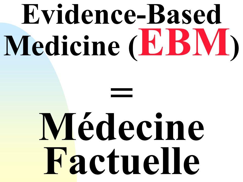 Evidence-Based Medicine (EBM)