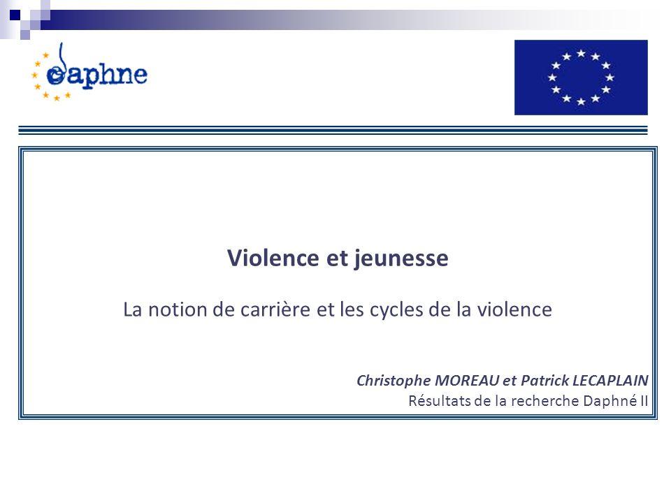 La notion de carrière et les cycles de la violence
