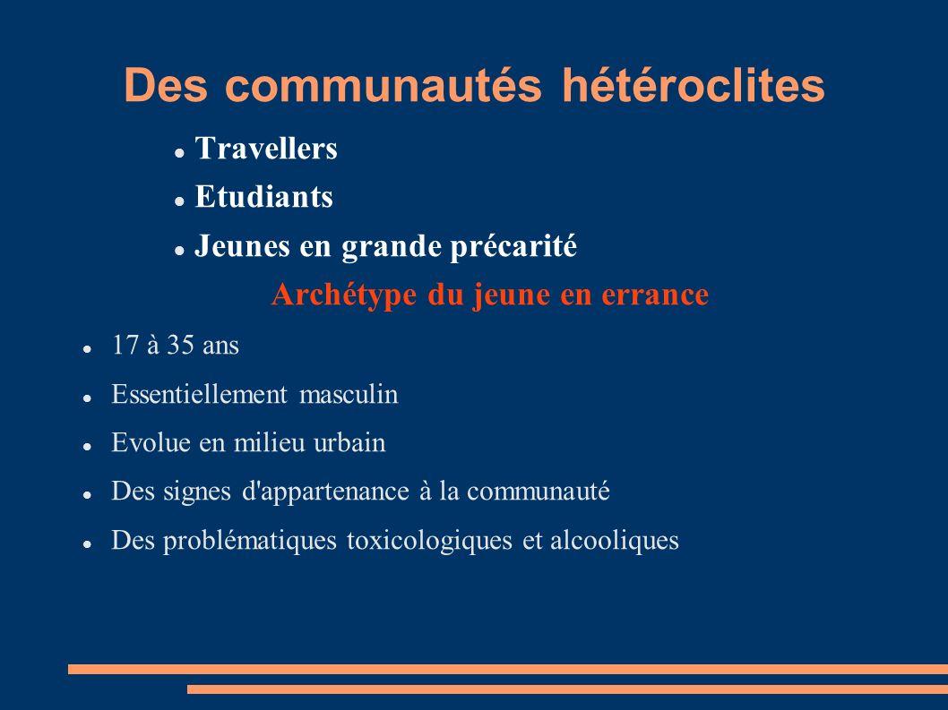 Des communautés hétéroclites